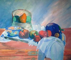 Gauguin-kopie-akvarel
