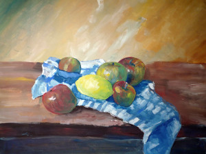 Variace-na-Cezana-akvarel